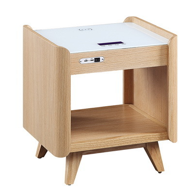 china wireless charging bedside table