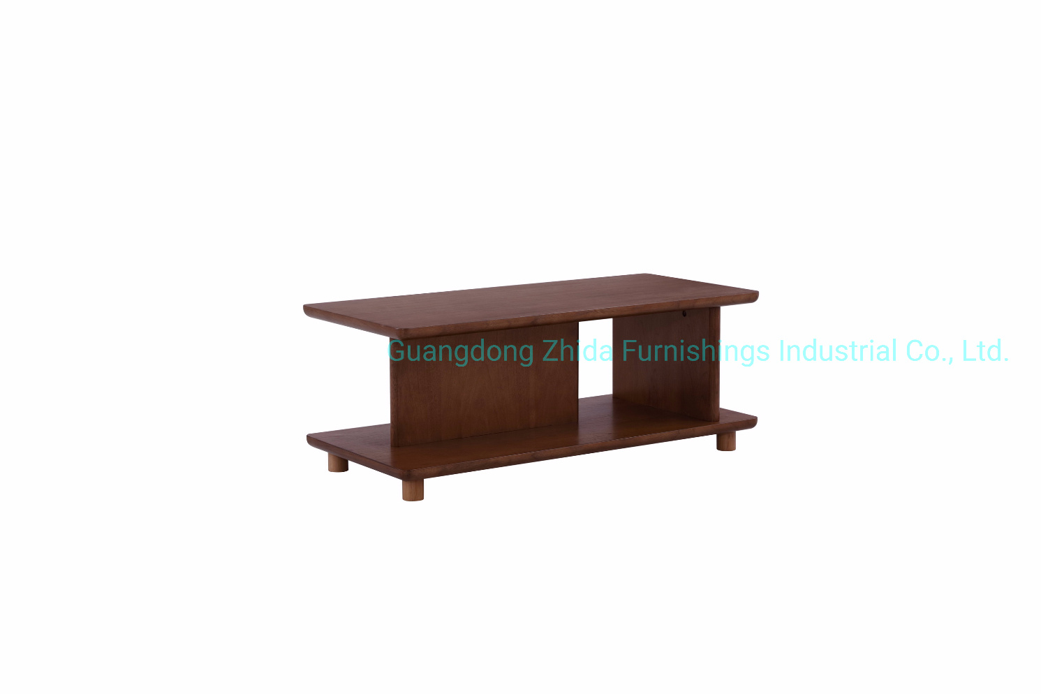 China Wooden Coffee Table Sofa Side Table Walnut Veneer China Coffee Table Marble Table