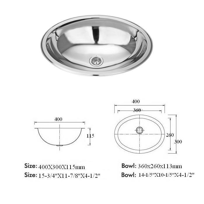 china commercial small round stainless