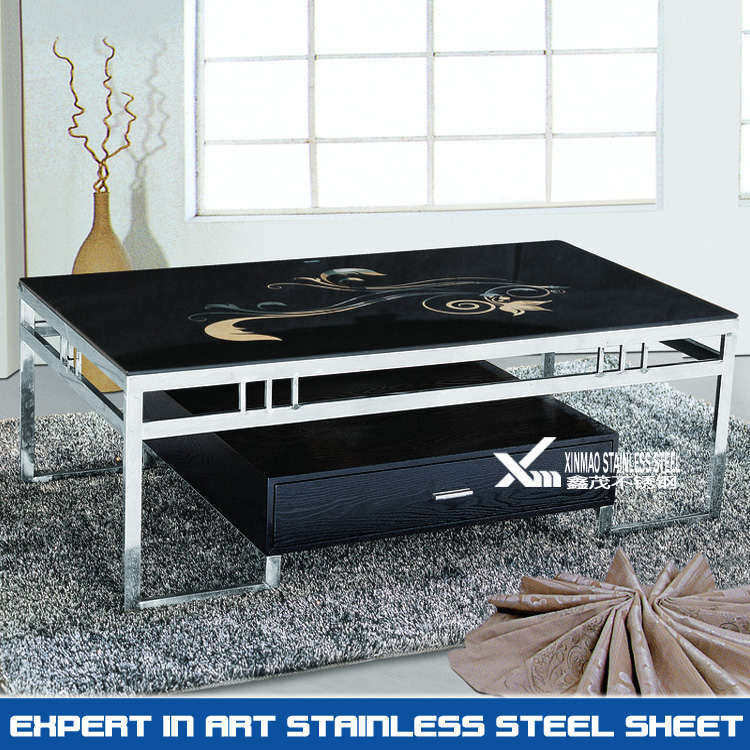hot item 304 grade welded square stainless steel coffee table legs
