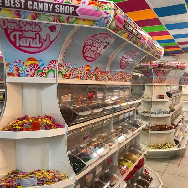 china supermarket candy display rack