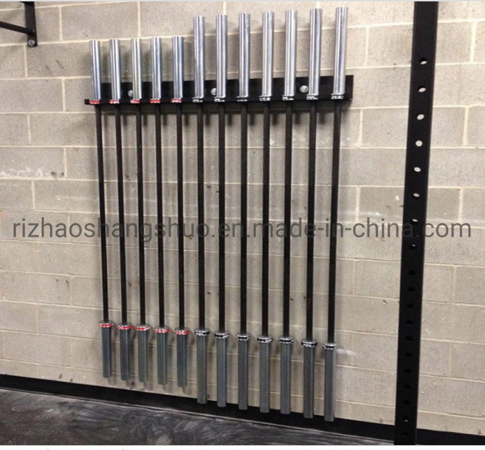 china steel gym storage rack barbell