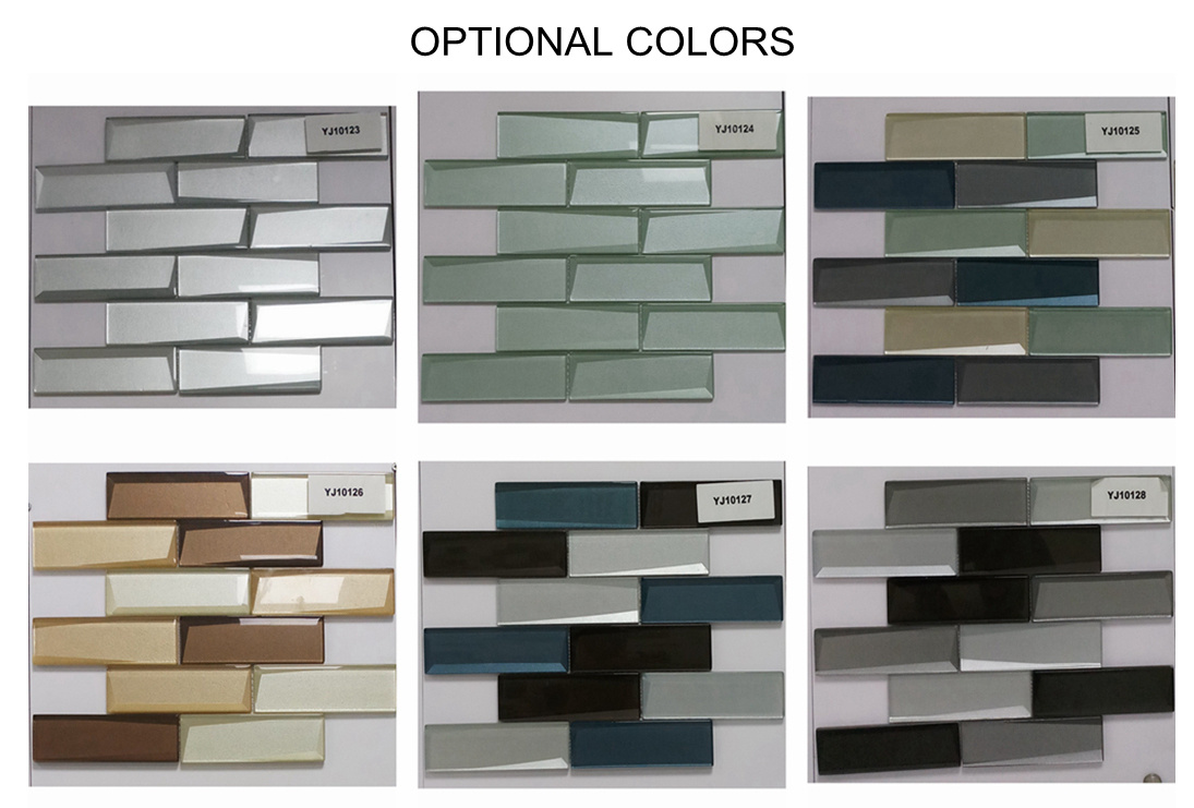 china home building glass tile kitchen