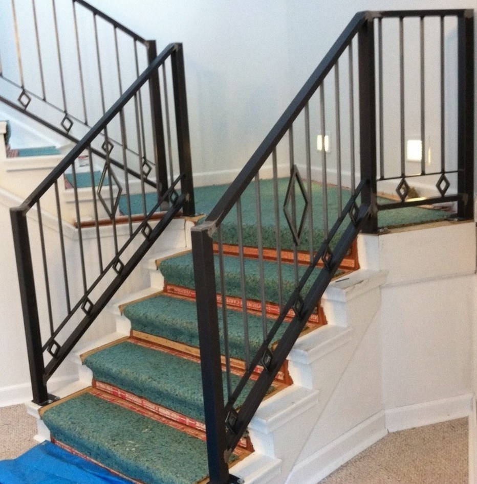 China Cheapest Outdoor Wrought Iron Stair Railings For Sale   Stair Handrails For Sale   Iron Staircase   Cable Railing   Deck Railing   Handrail Bracket   Balusters