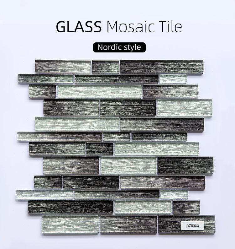 hot item high glossy glazed purple red art mosaic tile pure red color wall floor gloss glass mosaic tile