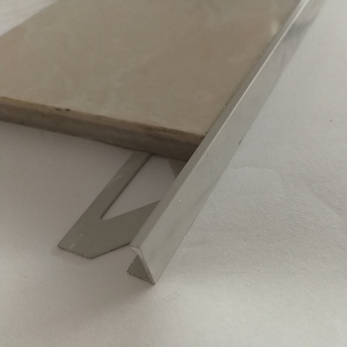 hot item stainless steel tile trim with marble pattern