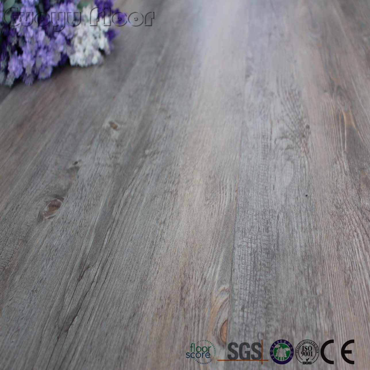 china grey wooden pattern peel and