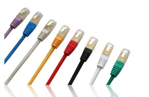 China CAT6 UTP/FTP/STP Patch Cable With 50u RJ45 8p8c