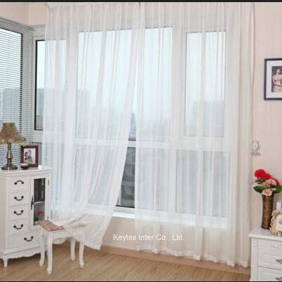 chine rideau organza blanc voile