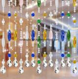 chine rideau de perles de verre pour la