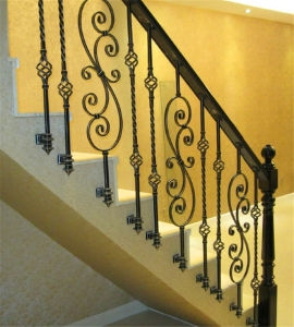 China Hot Sale Stair Handrail Staircase Spindles Railing China | Stair Rails For Sale | Metal | Cheap | Stainless | Minimalist | Hand
