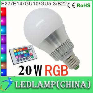 10w rgb led bulb e27 16 color led rgb magic light bulb with wireless remote control rgb led light