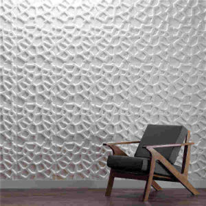 3d pvc plastic vinyl wall board panel tile manufacturer in china d067