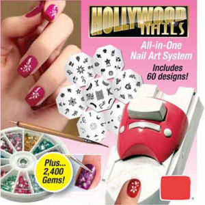 China Nail Printer Hollywood Nails Art System Kit
