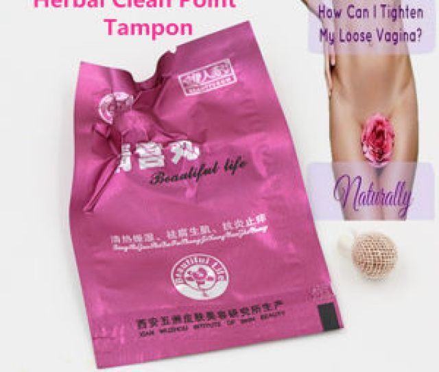 Tightening Loose Vagina Herbal Tampon Swabs Vagina Therapy Vaginal Steam Vaginal Fitness And Sterilizing