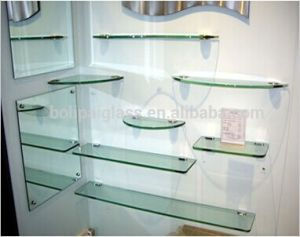 china 8mm bathroom stand glass, bathroom shelves glass, burlington