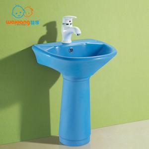 mini porcelain pedestal sink toddler
