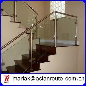 China Handrail Plexiglass Tempered Glass Panel Railing For | Tempered Glass Panels For Stairs | Metal | Glass Balustrade | Newel Post | Acrylic | Bannister