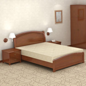 china solid wood frame queen bedroom