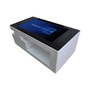 china touch screen coffee table and