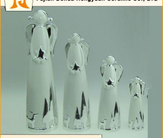 Different Size The Ceramic Angel Christmas Decorations