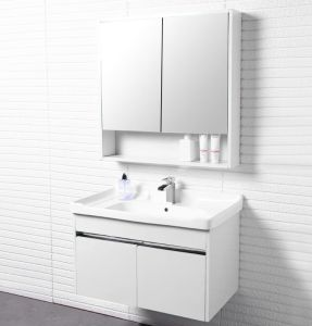 white color hotel bathroom sink cabinet basin vanities kabinet wastafel kabinet badmeubel