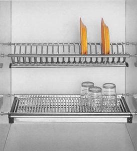 kitchen stainless steel dish rack ctx18