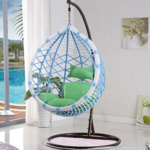 china patio rattan egg shaped swing