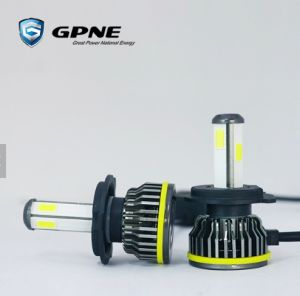 gpne auto lighting system 4 side led headlight