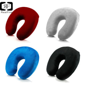 cheapest wholsales memory foam u shaped travel pillow neck support head rest airplane cushion