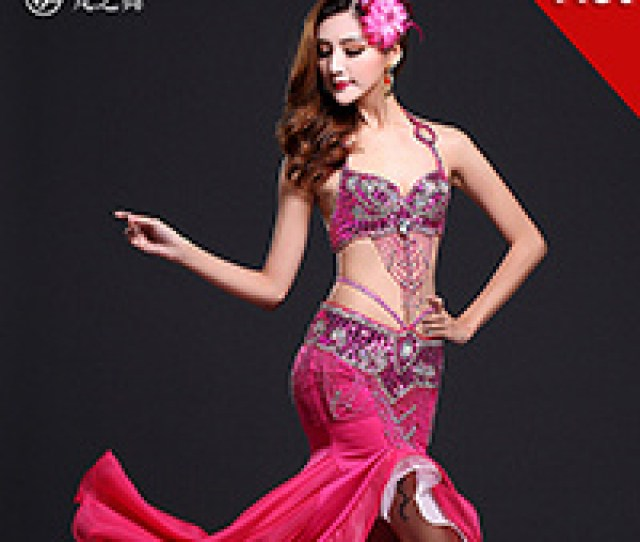 Gt 10162 Latest Designed Hot Sexy Long Beaded Tassel Professional Arabic Belly Dance Costumes