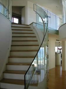 China Frameless Glass Balustrade Decorative Stair Railing | Frameless Glass Stair Railing | Metal | Seamless Glass | Handrail | Framed Glass | Office