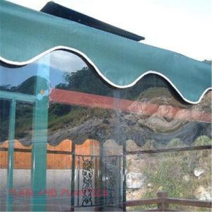 clear plastic vinyl curtain walls