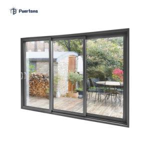 120 x 96 exterior white powder coated aluminium sliding door external house