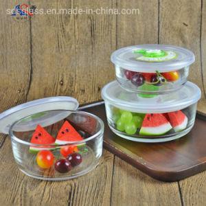 microwave oven 3pcs glass bowl set