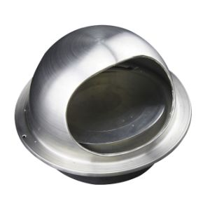 stainless steel wall gravity grille mushroom air vent cap without screen mesh exhaust fan wall terminations