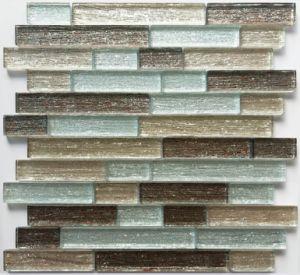 brown powder silk cloth surface glass mosaic tiles for metal coated roof panels gres porcelain tile mosaik wandfliese carrelage mural en mosai que