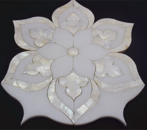 china cheap price flower shape waterjet