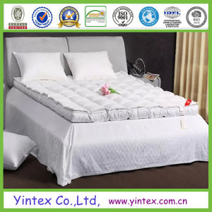 Double Layer Duck Down Feather Mattress Toppers