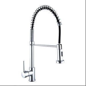 upc industrial spring neck commercial 360 turn kitchen tap faucet