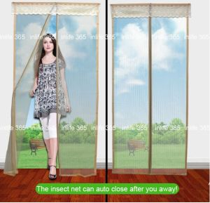 china magnetic door mosquito net ready