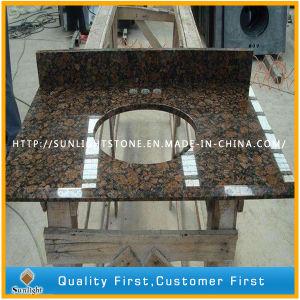 dessus baltiques polished de vanite de granit de brown kitchentop pour residentiel hotel