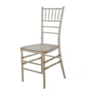 bon marche de la resine claire chiavari chaise empilable