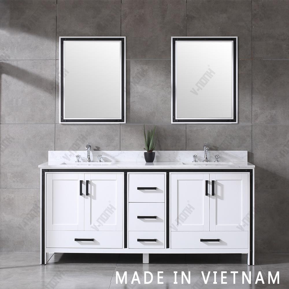 standing bathroom vanity single sink