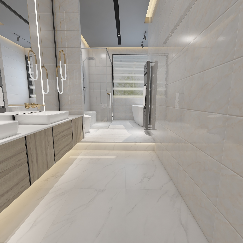 300x600mm Hotel Villa Apartment Decorative Bathroom Wall Tile Designs China Porcelain Tile Sri Lanka Tile Prices Made In China Com