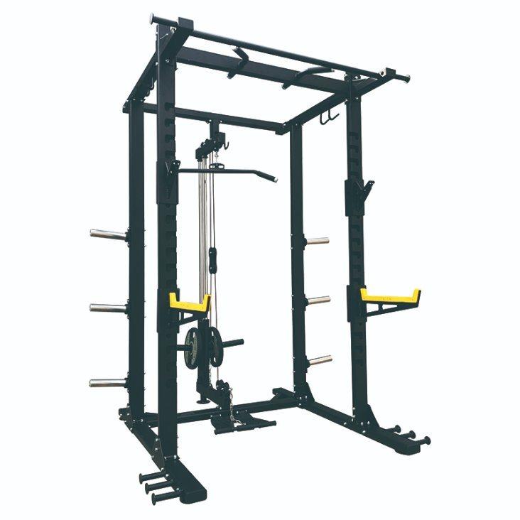 weight lift barbell power rack deep