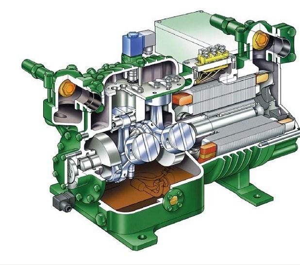2hc 2 2y Compresor Bitzer Semi Hermetic 2hc 2 2y