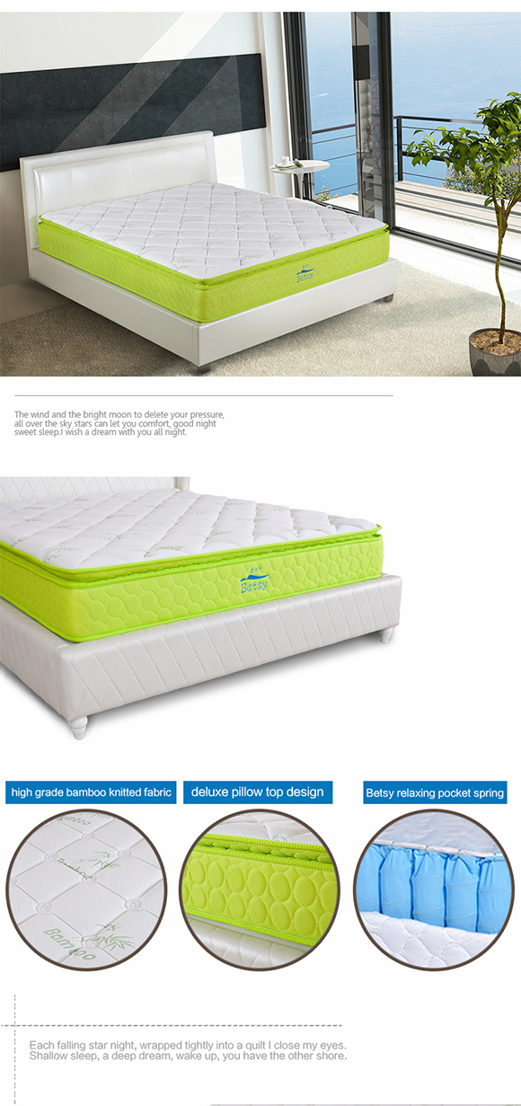 Oem Comprerssed Super Single Mattress Memory Foam 28cm With Relaxing Pocket Spring And Resilient