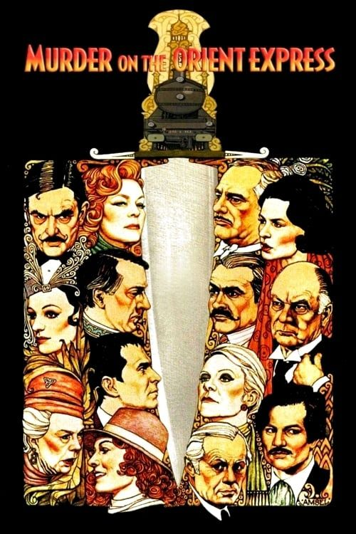 Key visual ofMurder on the Orient Express