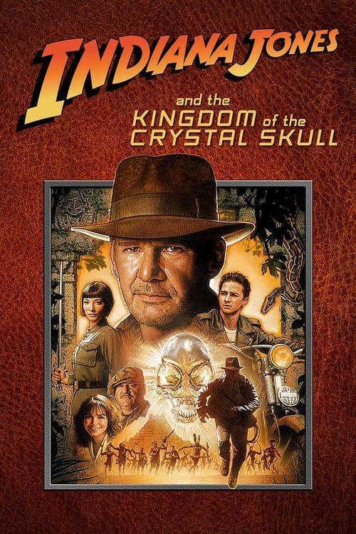 Key visual ofIndiana Jones and the Kingdom of the Crystal Skull